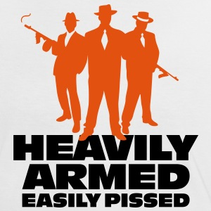 Heavily Armed 1 (2c)++ T-Shirts - Frauen Kontrast-T-Shirt