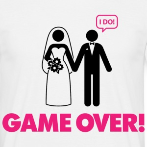 Game Over 3 (dd)++ T-shirts - T-shirt herr
