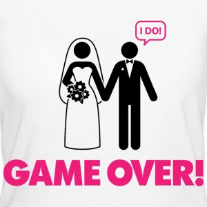 Game Over 3 (dd)++ Tee shirts - T-shirt Bio Femme