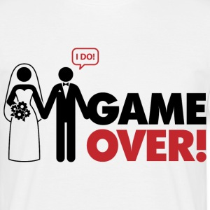 Game Over 2 (dd)++ T-shirts - T-shirt herr
