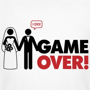 Game Over 2 (dd)++ Tee shirts - T-shirt bio Homme