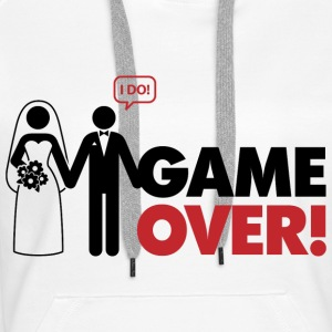 Game Over 2 (dd)++ Pullover - Frauen Premium Hoodie