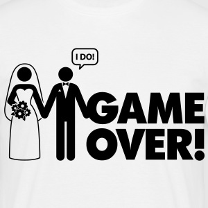 Game Over 2 (1c)++ T-shirts - Mannen T-shirt