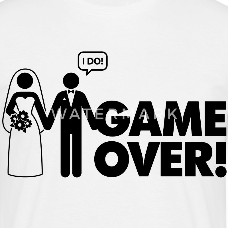 Game Over 2 (1c)++ Tee shirts - T-shirt Homme