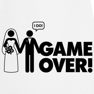 Game Over 2 (1c)++  Aprons - Cooking Apron
