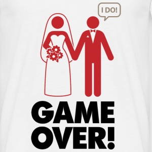 Game Over 1 (dd)++ Camisetas - Camiseta hombre