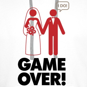 Game Over 1 (dd)++ Bluzy - Bluza męska Premium z kapturem