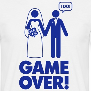 Game Over 1 (1c)++ T-shirts - Herre-T-shirt