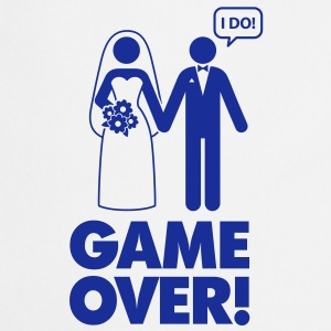 Game Over 1 (1c)++  Aprons - Cooking Apron