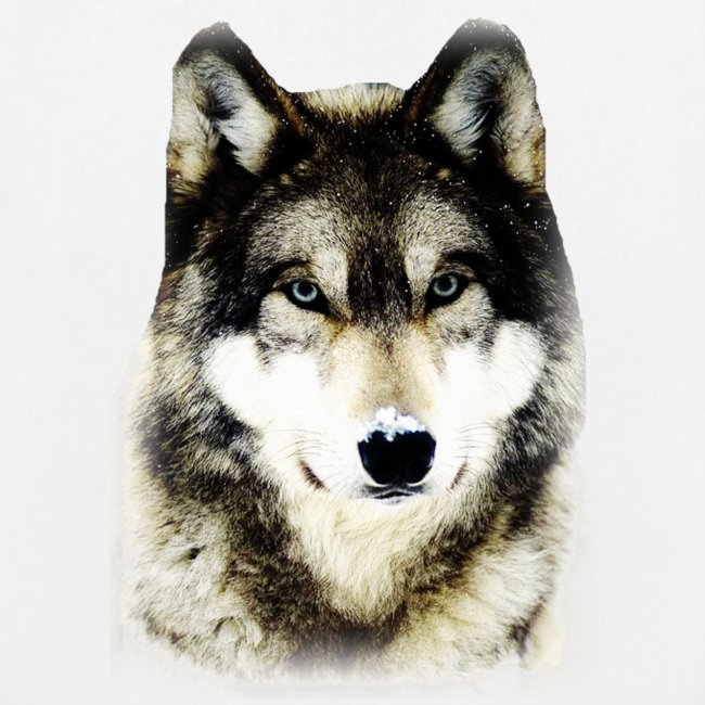 T shirt femme loup