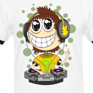 Party DJ - Men's Ringer Shirt