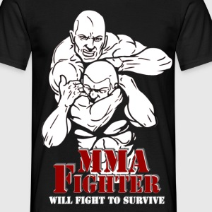 mma_fighter3 T-Shirts - Männer T-Shirt