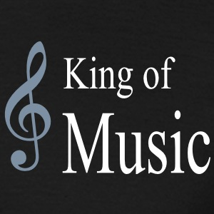king of music - Männer T-Shirt