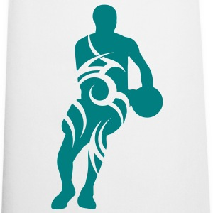 Men basketball tribal - Delantal de cocina