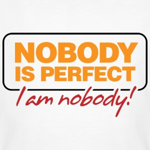 Nobody Is Perfect 2 (dd)++ T-shirts - Mannen Bio-T-shirt