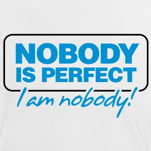 Nobody Is Perfect 2 (2c)++ T-shirts - Vrouwen contrastshirt