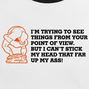 Im Trying To See Things 2 (2c) T-shirts - Kontrast-T-shirt dam