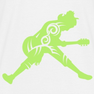 Guitar player tribal - T-shirt herr