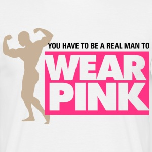 Real Man Wear Pink 2 (dd)++ Tee shirts - T-shirt Homme
