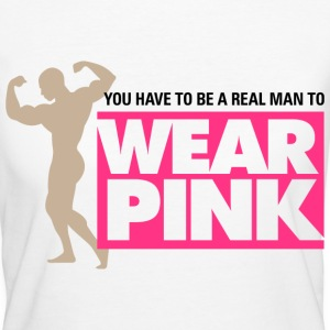 Real Man Wear Pink 2 (dd)++ T-Shirts - Women's Organic T-shirt
