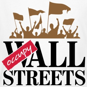 Occupy Wall Streets 3 (dd)++ Tee shirts - T-shirt bio Homme