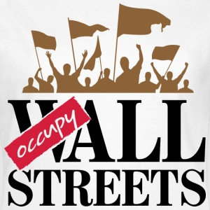 Occupy Wall Streets 3 (dd)++ T-shirts - Vrouwen T-shirt