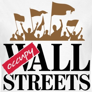 Occupy Wall Streets 3 (dd)++ T-Shirts - Women's T-Shirt