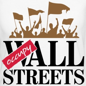 Occupy Wall Streets 3 (dd)++ T-shirts - Vrouwen Bio-T-shirt
