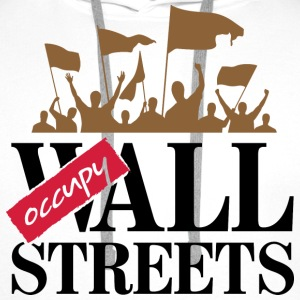 Occupy Wall Streets 3 (dd)++ Sweat-shirts - Sweat-shirt à capuche Premium pour hommes