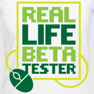 Real Life Beta Transfer 2 (dd)++ T-shirts - Ekologisk T-shirt dam