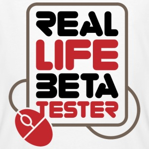 Real Life Beta Transfer 1 (dd)++ T-Shirts - Men's Organic T-shirt