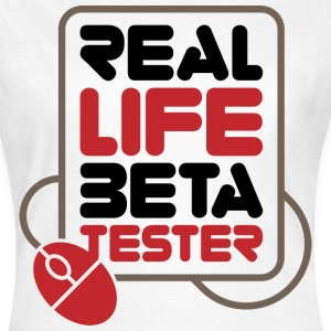 Real Life Beta Transfer 1 (dd)++ T-Shirts - Frauen T-Shirt