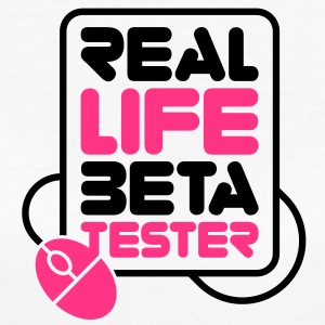 Living beta testers! T-Shirts - Women's Organic T-shirt