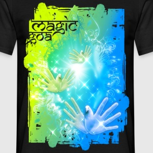 Magic GOA | unisex shirt - Männer T-Shirt