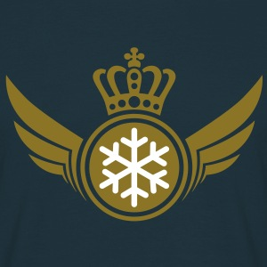 Snow Lord | König | Königin | King | Queen T-Shirts - Mannen T-shirt