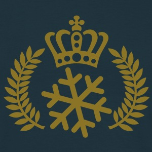 Schneekönig | Schneekönigin | King of Snow | Queen of Snow T-Shirts - Maglietta da uomo