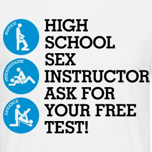Sex Instructor 4 (2c)++ T-Shirts - Men's T-Shirt