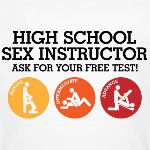 Sex Instructor 3 (dd)++ T-skjorter - Økologisk T-skjorte for menn