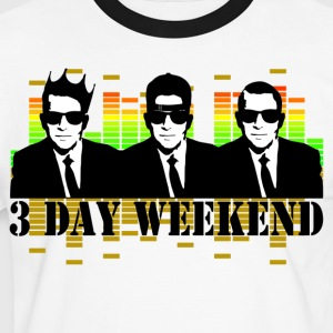 3 day weekend T-Shirts - Männer Kontrast-T-Shirt