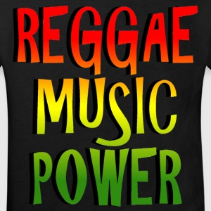 reggae music power Shirts - Kids' Organic T-shirt
