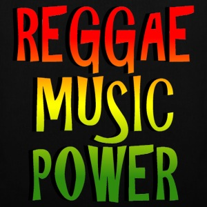 reggae music power Tassen - Tas van stof