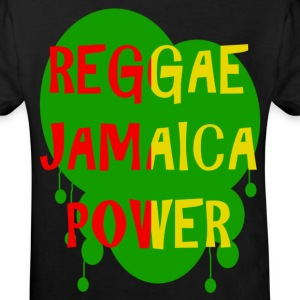 reggae jamaica power T-shirts - Ekologisk T-shirt barn