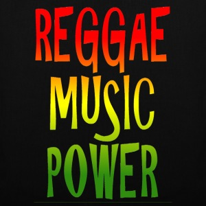 reggae music power Borse - Borsa di stoffa