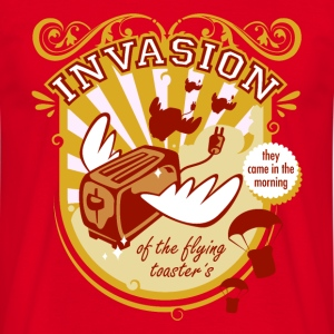 Toast Invasion - Männer T-Shirt