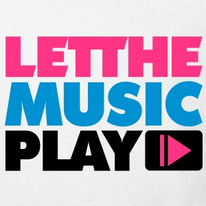 Let The Music Play Kinder T-Shirts - Kinder Bio-T-Shirt