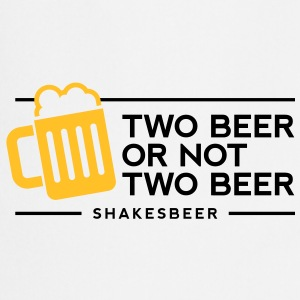 Two Beer Shakesbeer 1 (2c)++ Tabliers - Tablier de cuisine