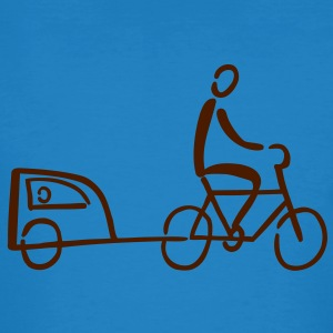 Bike Trailer T-Shirts - Men's Organic T-shirt