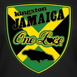 kingston jamaica one love Camisetas - Camiseta mujer