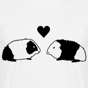 Guinea pig love T-Shirts - Men's T-Shirt