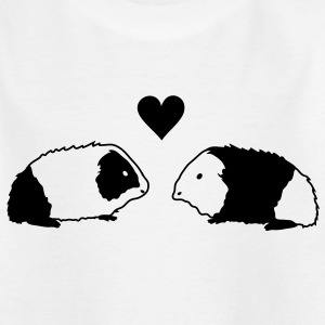 Guinea pig love Kids' Shirts - Teenage T-shirt